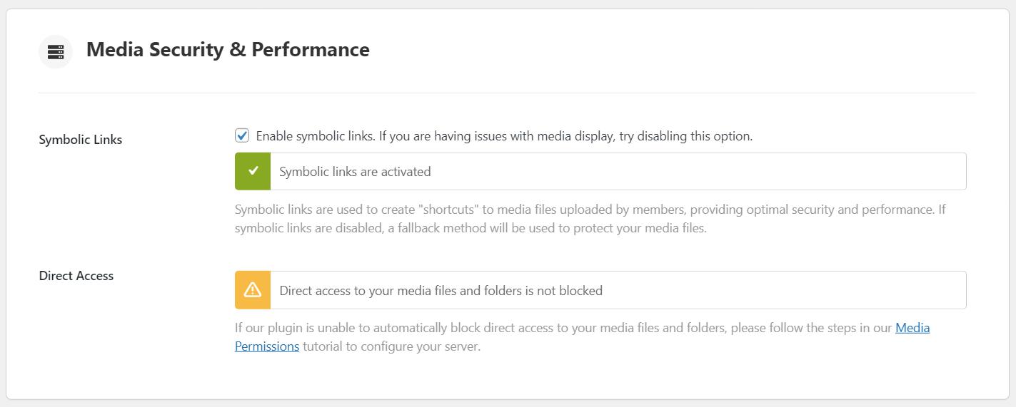 BuddyBoss Platform Medias : Direct Access Security Notice